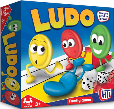 Ludo Traditional Childrens & Family Board Game Kids & Adults Toy