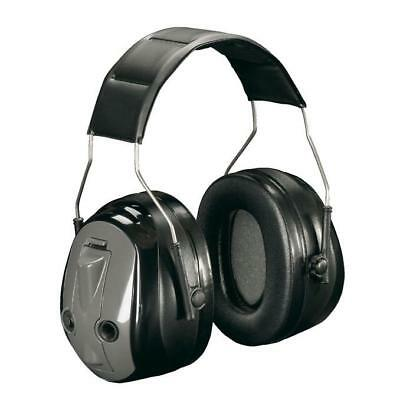 Peltor Optime Ear Muff Push To Listen Ear Defender Black Ref MT155H530A