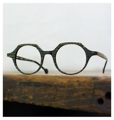 L.A. EYEWORKS Quill 933 Grigio Occhiali Montatura Vista New Authentic Size 43/20