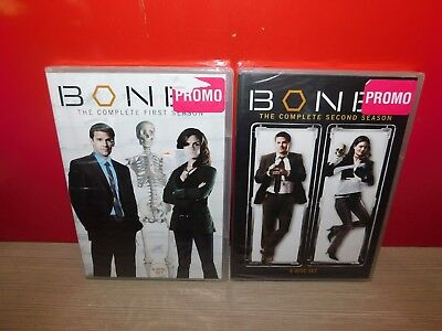 Bones - The Complete First & SECOND SEASONS ON DVD! (1-2) BRAND NEW! SHIPS FREE!