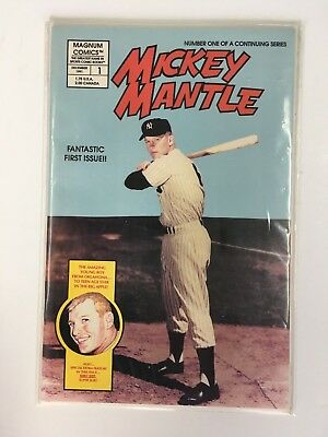 Magnum Comics #1 Mickey Mantle Story Part 1 NEW  NEVER READ