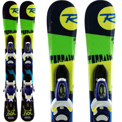 ski occasion enfant ROSSIGNOL Terrain Boy junior + Fixations