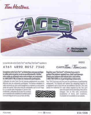 Gift Card: Tim Hortons (Canada) 2018 MARJHL St. Stephen Aces, Series 6161