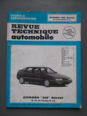 Revue Technique Automobile - Citroen Xm Diesel - Rta
