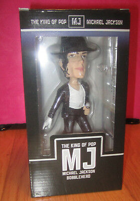 Michael Jackson BOBBLEHEAD bravado official 2009 tribute figure