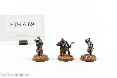 Games Workshop Lord of the Rings Evil LOTR Uruk-hai Scouts Metal A69