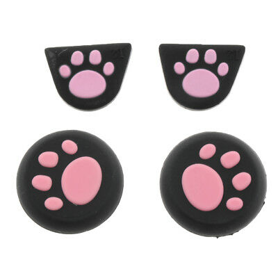 Rubber Thumb Stick Grip Cap for PS4 PS3 XBOX 360/One Analog Controller Pink