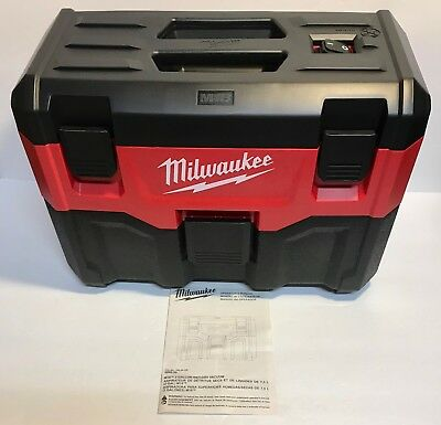 Milwaukee 0880-20 M18 18V- Black/Red Wet/Dry Vacuum Cleaner and Blower-TOOL ONLY