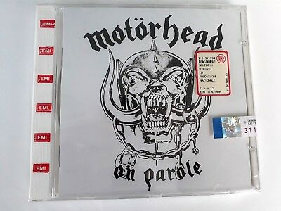 Motorhead On Parole CD 1997 EMI Made in Italy Remastered Brand New & Sealed