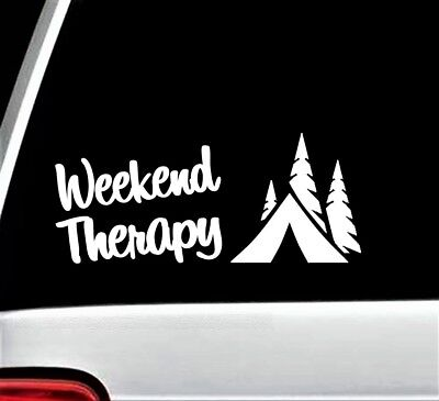 A1049 HAPPY CAMPER CAMPING Decal Sticker for Car Truck SUV Van LAPTOP TENT WALL