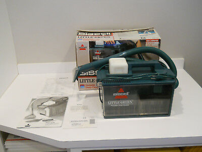 Bissell Little Green Clean Machine 1653-4 Carpet / Upholstery Cleaner Shampooer