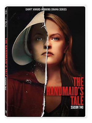 The Handmaids Tale:The Second Season 2 (DVD, 2018, 4-Disc Set) Ships First Class