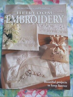 HEIRLOOM EMBROIDERY By BETTER HOMES AND GARDENS