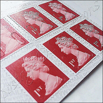 3 x 1st CLASS Stamps NEW Royal Mail Postage Stamp First Book Sheet UK FAST POST!