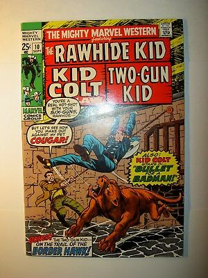 Mighty Marvel Western #10 FN/VF, 11 FN+1970, Rawhide Kid, Two-Gun Kid & Kid Colt