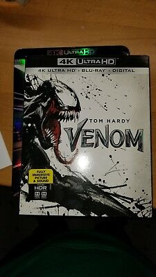 Venom (4K UHD Bluray) No Regular Bluray No Digital Code