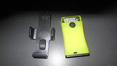 FoxFury Fire Lime Green Scout Safety Red & White LED Pocket Light with Belt Clip