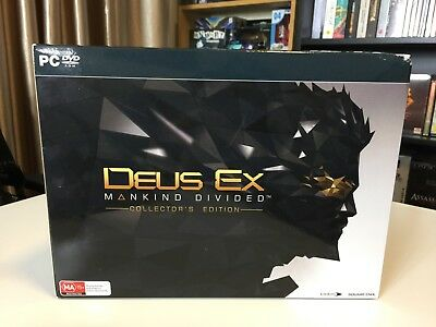 Deus Ex: Mankind Divided Collectors Edition PC