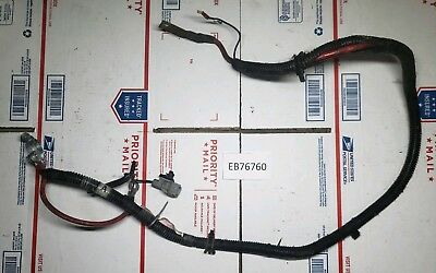 1999 dodge ram 1500 2500 positive battery cable starter wiring harness wires  oem