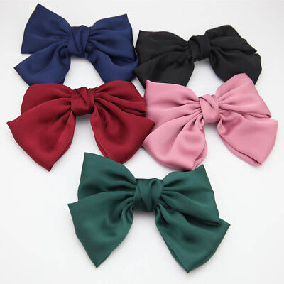 Women Girls Bow Tie Hairpin Knot Hair Clips Pins Barrette Hair Claws Accessories