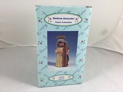 Madame Alexander Joseph Figurine Classic Collection Nativity NIB! Mint! 90680