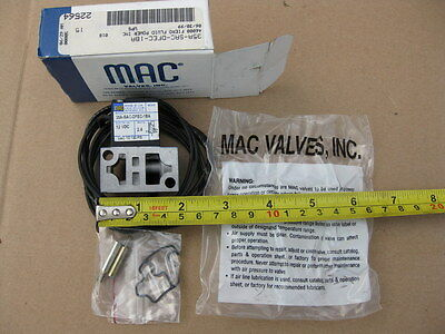 MAC 35A-SAC-DFEC-1BA Pneumatic Solenoid Valve 12VDC 35ASACDFEC1BA New In Box