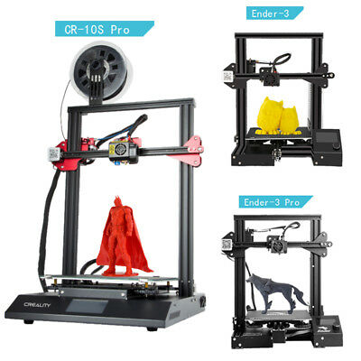 Original Creality 3D Printer Ender 3/Pro CR-10S Pro DIY Kit FDM DC 110V/220V/24V
