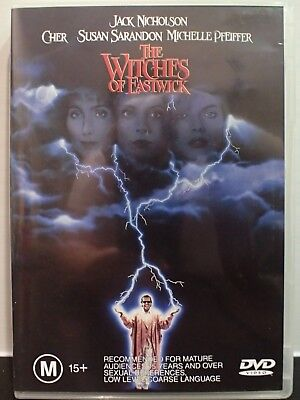 The Witches Of Eastwick (DVD, R4 PAL) *VERY GOOD CONDITION**