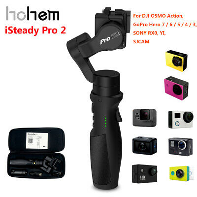 Hohem ISteady Pro 3-Axis Handheld Gimbal Stabilizer 4K Video For GoPro Hero Cam