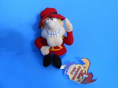 "Dudley Do-Right 1999 Stuffins Rocky & Bullwinkle 6"" Plush Stuffed Toy Cvs Only"
