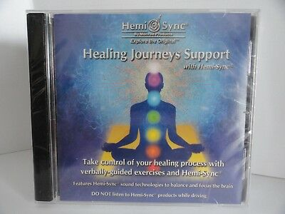 """Hemi-Sync By Monroe Products Explore the Original Healing Journeys Support """"NEW"""""""