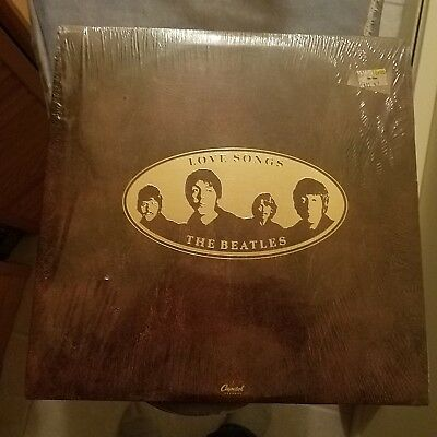 THE BEATLES Love Songs LP 2xLP CAPITOL SKBL 11711 embossed Cover w/book sealed