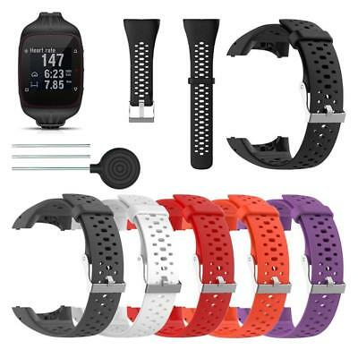 Replacement Silicone Wrist Strap Watchband for Polar M400 M430 Official Watch