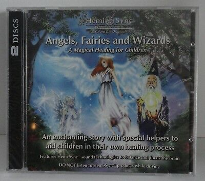 """Hemi-Sync By Monroe Products Angels, Fairies and Wizards """"NEW FACTORY SEALED"""""""