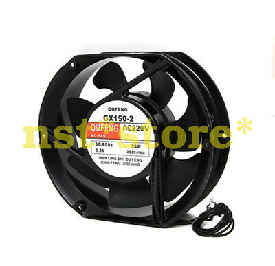 Suitable for GX150-2 trimming 220V ball bearing cooling fan 15050 17050 17250