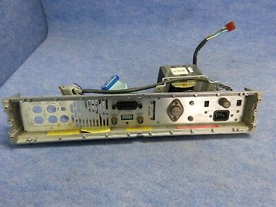 HP 3456A Digital Voltmeter Back Panel w/ HP 9100-0469 Power Ttansformer
