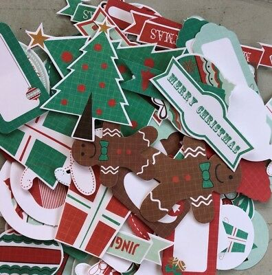 KAISERCRAFT DIE CUT PACKS - GINGERBREAD  (15 pieces in pack)