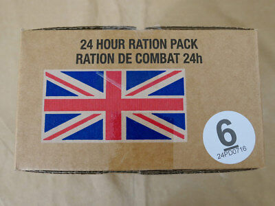 Menue #06 GB ARMY 24 Hour Combat Ration MRE EPA SURVIVAL Notration Verpflegung