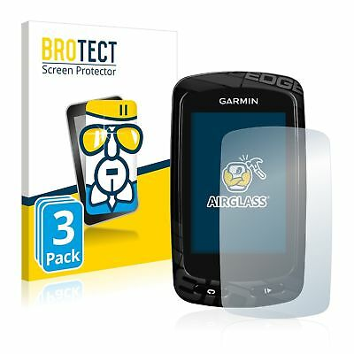 Garmin Edge 810 GPS , 3 x BROTECT® AirGlass® Premium Glass Screen Protector