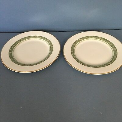 Royal Doulton Rondelay pair of tea/side plates