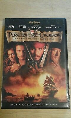Pirates Of The Caribbean The Curse Of The Black Pearl DVD Walt Disney