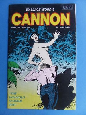 Cannon 1 Wally Wood Eros! Adults! Rare!