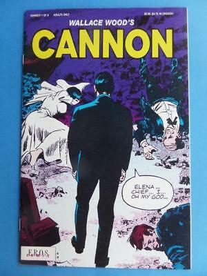 Cannon 7 Wally Wood Eros! Adults! Rare! Nm-