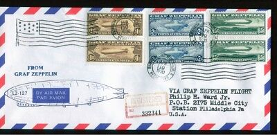 Graf Zeppelin stamps Air mail.