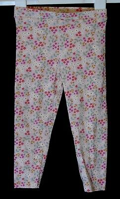 Baby Girls Matalan Pink Ditsy Floral Stretch Leggings Age 18-24 Months