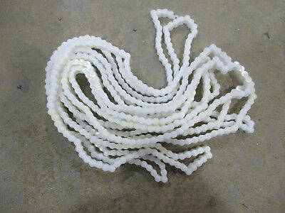 #35 plastic roller chain x 25 feet  (acetal or delrin)