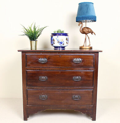 Antique Victorian Chest of Drawers Mahogany