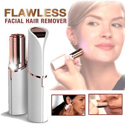 Flawless Women's Painless Facial Face Eyebrow Body Hair Remover Trimmer Shaver