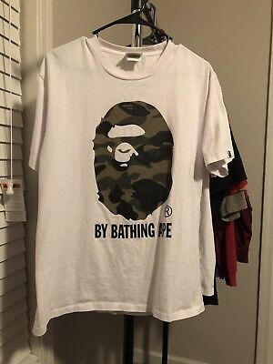 4c6684089 BAPE T SHIRT Red Camo A Bathing Ape Tee US Size - $20.78 | PicClick