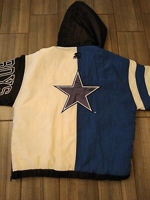 acee083b21d72 Classic Team Collection Starter Dallas Cowboys NFL Pullover Jacket Mens  Medium
